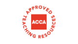 ACCA approved teaching resources logo