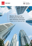 Market demand for professional businesses and advisory services - Singapore, ASEAN region and China