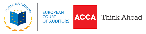 European Court of Auditors logo and the Association of Chartered Certified Accountants logo