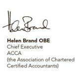 Helen Brand OBE, Chief Executive, ACCA (the Association of Chartered Certified Accountants)