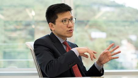 Patrick Wong, executive vice president, finance, at AECOM