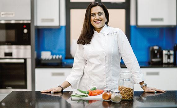 Anita Kerai Fcca Simply Good Food Tv Presenter Acca Global