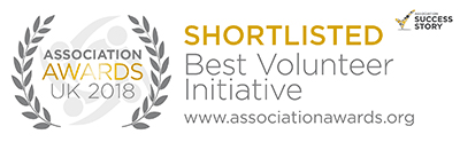 Association Awards UK 2018 - Shortlisted Best Volunteer Initiative