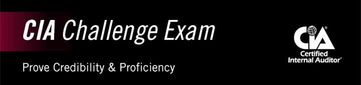 Image: CIA Challenge Exam - Prove Credibility and Efficiency, from IIA