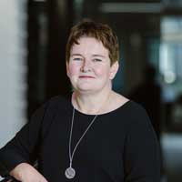 Photo of Helen Brand, ACCA Chief Executive. Helen is looking to the camera and smiling.