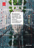 Cover image of the Business models of the future report.