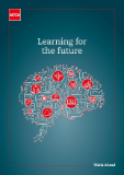 Cover image of the Learning for the future report.