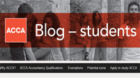 Visit the ACCA Student Blog