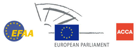 EFAA and European Parliament logos
